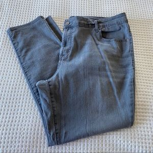 Old Navy Plus Super Skinny Grey Denim Jeans